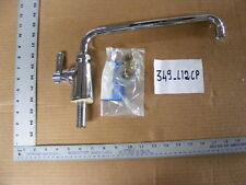 """Chicago 349-L12cp single line faucet sink mount with 12"""" spout"""