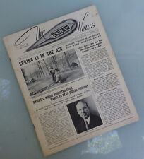 1940 INDIAN MOTORCYCLE NEWS MAGAZINE BOOK CHIEF SCOUT FOUR 741 NEW SPRING FRAME