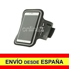"Brazalete Deportivo Neopreno Universal para Móviles de Hasta 5"" Negro a0367"