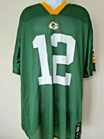 Vintage Aaron RODGERS # 12 GREEN BAY PACKERS JERSEY Reebok NFL Players