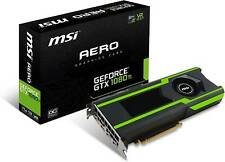 MSI GeForce GTX 1080 Ti Aero OC 11GB Professional Graphic Card GDDR5X