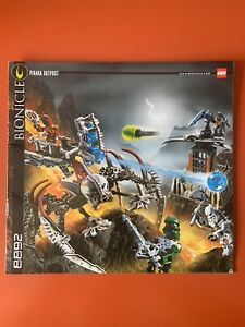 Notice LEGO 8892 - Bionicle