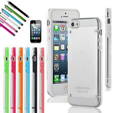 80 WHOLESALE Iphone 5 / 5s Transparent Clear Hard Case + FREE Screen Protector