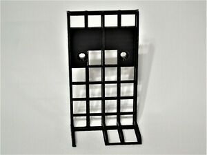 Power Brick/Supply Mounting Bracket - Vertical, side cord