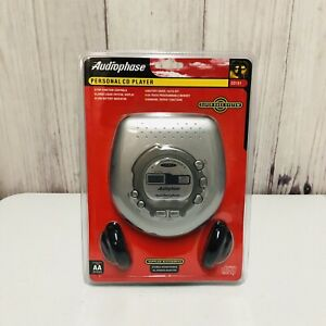 Audiophase Portable Personal CD Player CD151 New Sealed