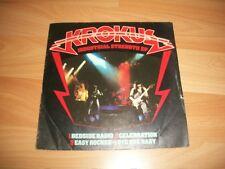 """KROKUS Industrial Strenght EP 7"""" Heavy Metal"""