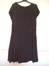Black Dress With Pink Spots