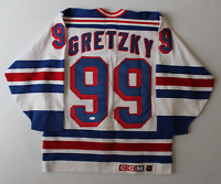 Wayne Gretzky signed autographed New York Rangers Cosby jersey! RARE! JSA LOA!