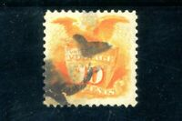 USAstamps Used VF US 1869 Eagle & Shield Pictorial Scott 116
