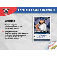 2020 TOPPS BIG LEAGUE BASEBALL FACTORY SEALED HOBBY BOX IN STOCK FREE SHIPPING