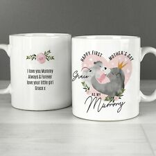Personalised 1st Mother's Day Mama Bear Mug, Mums First Mothers Day Message Gift