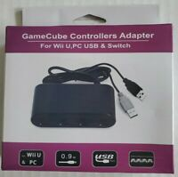 Gamecube Controller Adapter 4 Port for Switch Wii U PC