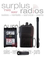 Used Vertex VX-351 VHF 134-174mhz 5W 16 channel Radio Business Security