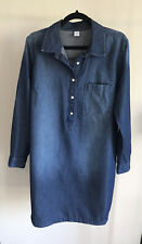 Old Navy Denim Long Sleeve Shirt Tunic Top Dress S Button Up Great Condition