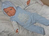 Traumdolls Babypuppen Antonio Juan Milan 52 cm Puppe Kinderpuppe Spielpuppe