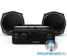 ROCKFORD FOSGATE HD9813SG-STAGE1 UPGRADE FOR SELECT 98-13 STREET GLIDE BIKES NEW