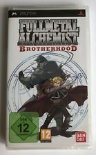 PSP Fullmetal Alchemist Brotherhood, UK Pal, New & Sony Factory Sealed