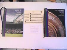 2x 2012 126TH CHAMPIONSHIPS WIMBLEDON ROYAL BOX PROGRAMMES DAY 10 & LADIES FINAL