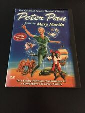 PETER PAN MUSICAL MARY MARTIN REGION 1 GOODTIMES EDITION DVD