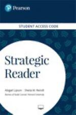 STRATEGIC READER ACCESS CODE - LIPSON, ABIGAIL/ REINDL, SHEILA M. - NEW BOOK