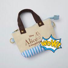 New Fashion Cartoon Alice In Wonderland Canvas Coin Phone Novelty Purse Wallet