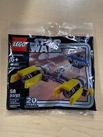 Lego Star Wars Podracer 30461 20th Anniversary 58 Pcs