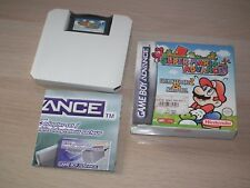 JEU Nintendo GBA GAME BOY ADVANCE - Super Mario Advance 1: Super Mario Bros 1 2