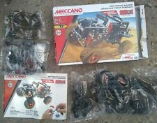 Meccano 25-in-1 Off-Road Racer Motorized Building Set With A Working Motor