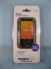 MetroPCS Clear Chield & Screen Protector In OB For Huawei M835 Mobile Phone (O)