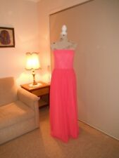 Designer Alfred Angelo Petunia Chiffon Ladies Formal/Evening Gown Size 14