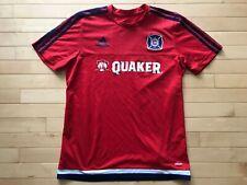 Adidas Chicago Fire soccer Jersey Mls Shirt Quaker Mens sZ M