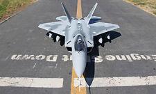 Scale SkyFlight LX EPS Twin 70mm EDF RC F22 Raptor KIT Plane W/O Motor Servo ESC