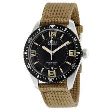 Oris Divers Sixty-Five Black Dial Automatic Mens Watch 733-7707-4064BRFS