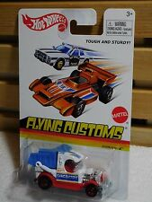 HOT WHEELS DUMPIN' A FLYING CUSTOMS #X8187 2012 WHITE NEW IN PACKAGE 3+ 1:64