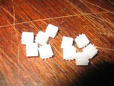 10 PIGNONE Bianco degli ingranaggi cilindrici - 9 denti per adattarsi Scalextric & altro Slot Cars W8100