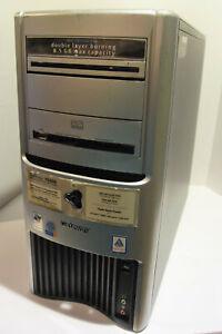 Gateway 702GE Desktop PC (Intel Pentium 4 3.2GH 1GB NO HDD) Works!