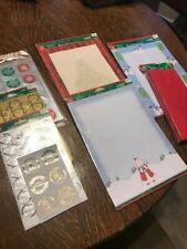 Christmas Stationary & Envelopes