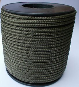 Sailing Boat Camp Yacht Pulley Washing Clothes Line Poly Rope Strong Khaki 4-6mm