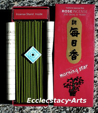 Nippon Kodo Morning Star ROSE Incense 2 boxes x 200, 400 Japanese Sticks {:-)
