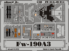 Eduard Zoom fe214 1/48 TAMIYA FOCKE WULF FW-190 A-3