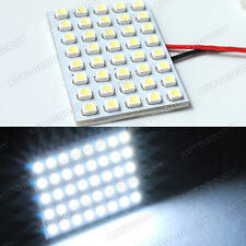 1x White LED Panel 40-SMD Dome Map Door Light Super Bright #41