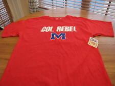 Mississippi Rebels college Red Oak L adult T shirt New
