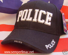 POLICE PD NEW HAT CAP BEANIE LAW ENFORCEMENT WOWH PIN UP GIFT CRIME CSI L@@K!