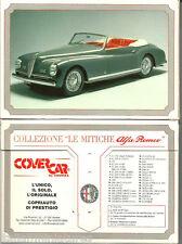 Alfa Romeo Specification Postcard Boxed Set of 35 Montreal Giulia 1900 Sprint