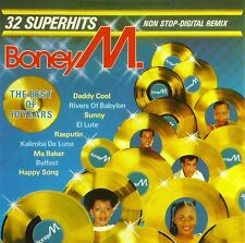 CD - Boney M. - The Best Of 10 Years - #A3478
