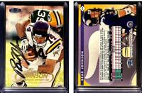 Brad Johnson Signed 1998 Fleer Tradition #170 Card Minnesota Vikings Auto Autogr
