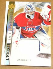 2015-16 Upper Deck Premier Prime Material Patch Zachary Fucale 2/10 Canadiens