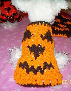"""JACK O'LANTERN"" HALLOWEEN Pumpkin Dog Sweater"
