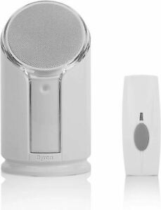 NRS Byron Extra Loud Doorbell with Flashing Strobe Light