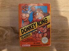 Donkey Kong Classics (NES, 1989, PAL) - VGC